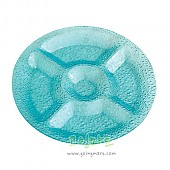 부페 원형안주사라 (그린/바이올렛/블루/스카이블루)