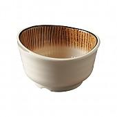 카푸치노 줄무늬웨이브밥공기