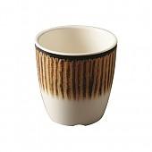 카푸치노 웰빙줄무늬컵