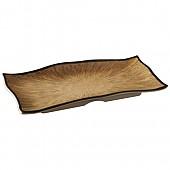 카푸치노 줄무늬생선접시
