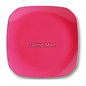 원색골든팔각접시(핑크)