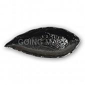 흑스톤 돌무늬나뭇잎접시
