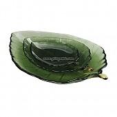 투톤 유리나뭇잎 (대)