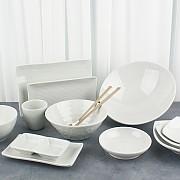 K마블 멜라민 그릇 업소용 접시 식당용