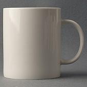 화이트 직선머그컵