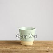 발수청자 물컵