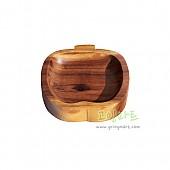 팝콘볼(애플) 원목 나무 그릇