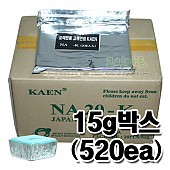 [카엔 정품] 사각 고체연료 15g 박스 (400ea)