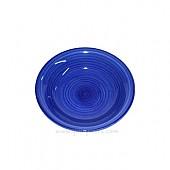 달팽이무늬 컬러접시170 (블루)
