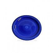 달팽이무늬 컬러접시160 (블루)