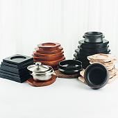 뚝배기 돌솥 솥 받침 업소용 주방 용품 기구