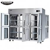 라셀르 65박스 냉장고 6-GLASS DOOR LP-1663R-6G