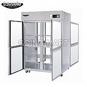 라셀르 LP-1043H-4G 45박스 온장고(4-GLASS DOOR)
