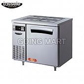 라셀르 3자 반찬 테이블 냉장고 LTB-913R LTB-914R