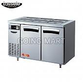 라셀르 4자 반찬 테이블 냉장고 LTB-1223R LTB-1224R