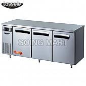 라셀르 6자 테이블 냉동냉장고 LT-1833RF LT-1834RF