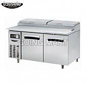 라셀르 5자 피자 토핑 테이블 냉장고 LPT-1523R LPT-1524R