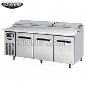 라셀르 6자 피자 토핑 테이블 냉장고 LPT-1833R LPT-1834R