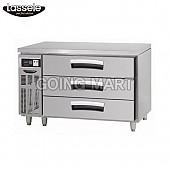 라셀르 LUCD-1233RG(LUCD-1234RG) 4자 높은 서랍식테이블(기본핸들)