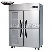 라셀르 유리문 냉장고 냉동고 냉장 냉동 LD-1143HRF-2G