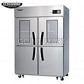 라셀르 유리문 냉장고 냉동고 냉장 냉동 LD-1143RF-2G