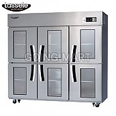 라셀르 유리문 냉장고 올냉장 LD-1763R-6G