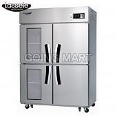 라셀르 유리문 냉장고 냉동고 냉장 냉동 LS-1043HRF-2G
