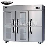라셀르 유리문 냉장고 냉동고 냉장 냉동 올냉장 LS-1663RF-4G