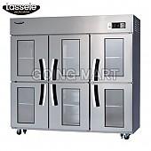 라셀르 유리문 냉장고 올냉장 LS-1663R-6G