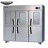 라셀르 유리문 냉장고 올냉장 LS-1663R-3G