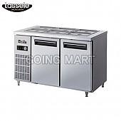 라셀르 나린 4자 반찬 테이블 냉장고 NRB-120R(NRB-121R)