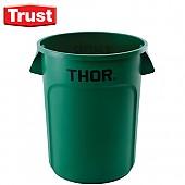 트러스트 THOR® 토르 다용도 원형 컨테이너(초록색)