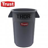 트러스트 THOR® 미니토르 원형 컨테이너(회색)
