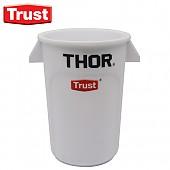 트러스트 THOR® 미니토르 원형 컨테이너(흰색)