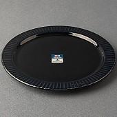 로얄베일 샤롯데 원형접시(블루블랙)