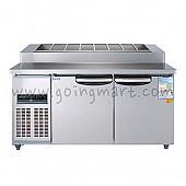 김밥테이블1500 WSM-150RBT(10) 냉장 370ℓ