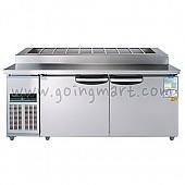 김밥테이블1800 WSM-180RBT(10) 냉장 475ℓ