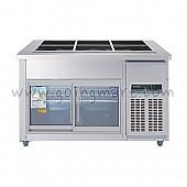 찬밧드(글라스)1200 WSM-120RB(G) 냉장 190ℓ