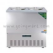 디지털 육수 냉장고 3말 쌍통 냉장 110L WSRM-303