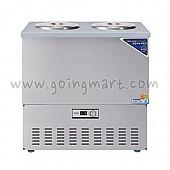 스텐 육수 냉장고 2말 쌍통 1라인 냉장 76L WSR-202