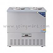 스텐 육수 냉장고 2말 쌍통 2라인 냉장 76L WSR-212