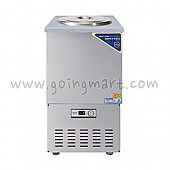 스텐 육수 냉장고 3말 쌍통 1라인 냉장 110L WSR-303