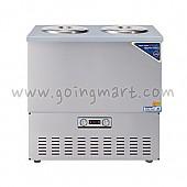 스텐 육수 냉장고 3말 쌍통 2라인 냉장 110L WSR-313