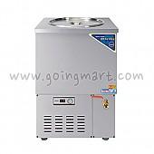 스텐 육수 냉장고 4말 외통 냉장 75L WSR-410