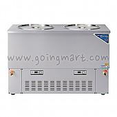 스텐 육수 냉장고 5말 쌍통 2라인 냉장 210L WSR-520