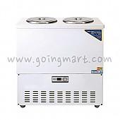 칼라 육수 냉장고 3말 쌍통 1라인 냉장 110L WSR-303