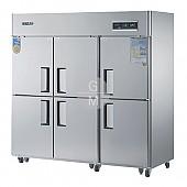 고급형 60박스 간냉식 WSFM-1900DR 냉장실 1647ℓ