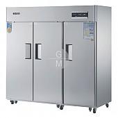 고급형 60박스 간냉식 WSFM-1900DR(3D) 냉장실 1647ℓ