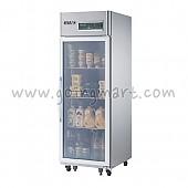 고급형 직냉식 냉장고 글라스 도어 냉장 494L CWSM-650R(1G)