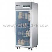 고급형 간냉식 냉장고 글라스 도어 냉장 562L WSFM-740R(1G)